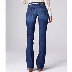 Lucky Brand Cate Boot Cut Flap Pocket Jeans Sz 24